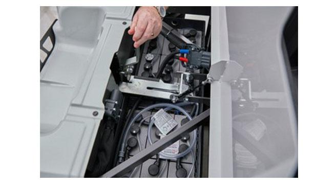 Wózek EMP wnętrze