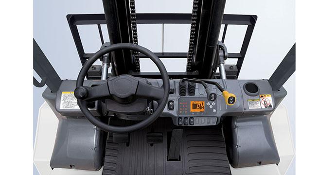 Wózek ZX wnętrze
