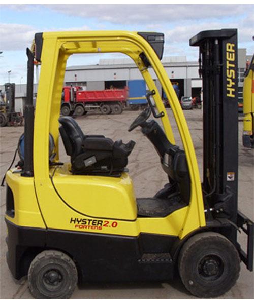Wózek Hyster 2.0
