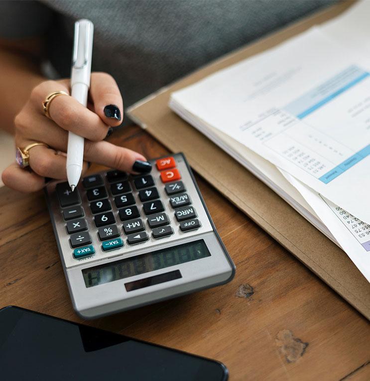 licznie na kalkulatorze