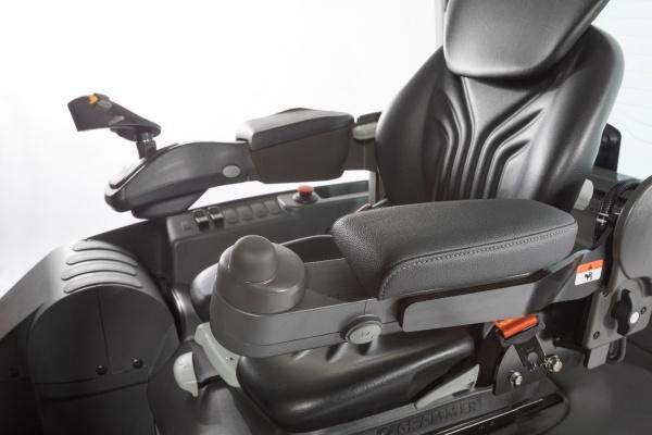 Mini kierownica w wózkach widłowych UniCarriers